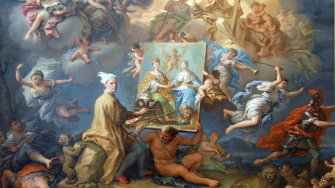 Paolo de Matteis (1662-1728): Allegory of the Peace of 1714