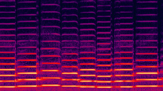 Spectrogram of violin
