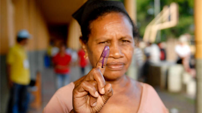 United Nations Photo: Timor-Leste Holds Second Round of Presidential Election