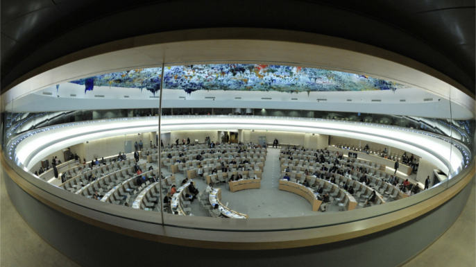 United Nations Photo: 18th Session of Human Rights Council