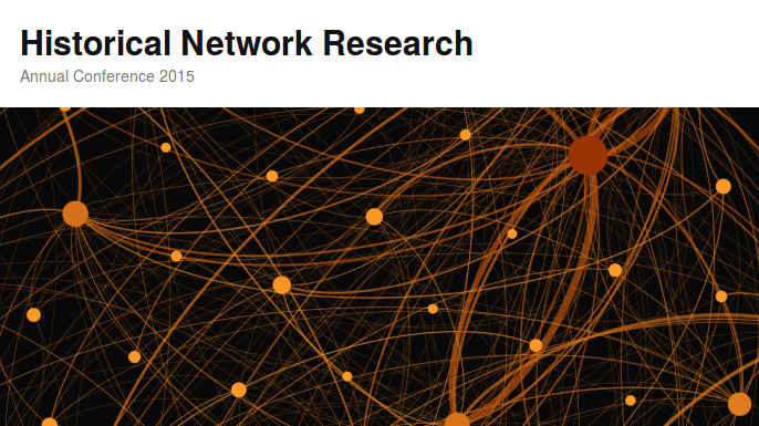 Historical Network Research 2015