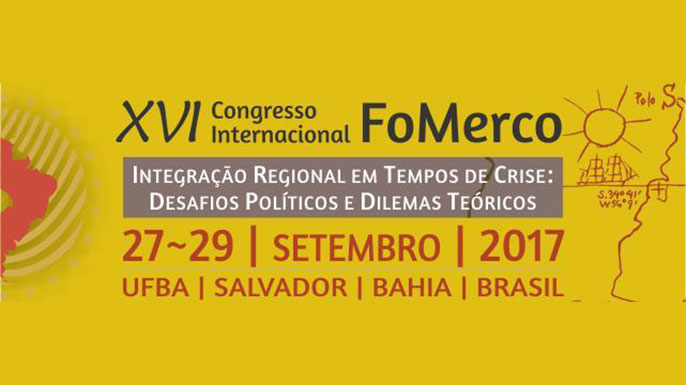 XVI Congresso Internacional do Fórum Universitário do Mercosul (FoMerco)