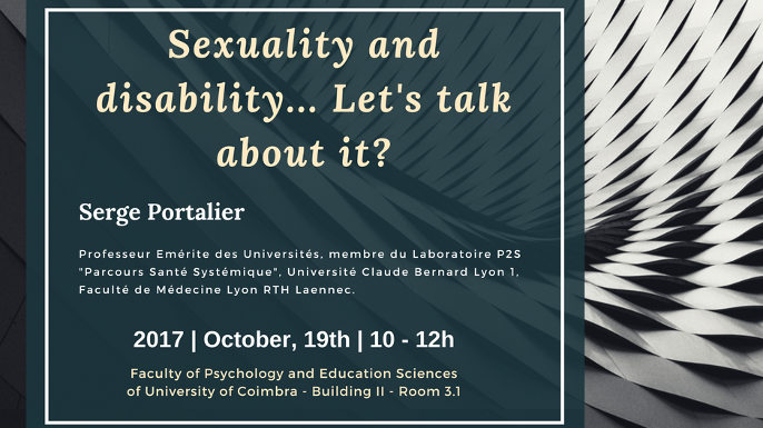 Conference - Sexuality and disability... Let's talk about it?