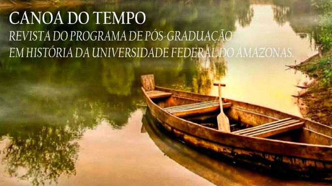 Chamada da revista Canoa do Tempo (UFAM)