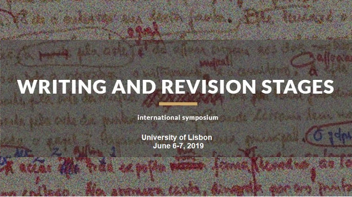 Call for papers: Writing and revision stages | Lisboa, 6-7 junho 2019