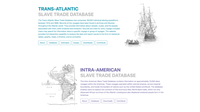 Slave Voyages 2.0 | The Trans-Atlantic Slave Trade Database