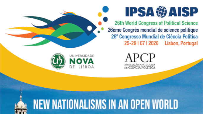 IPSA / AISP | 26th World Congress of Political Science | 26.º Congresso Mundial de Ciência Política | 25-29/ 07/2020, Lisboa, Portugal