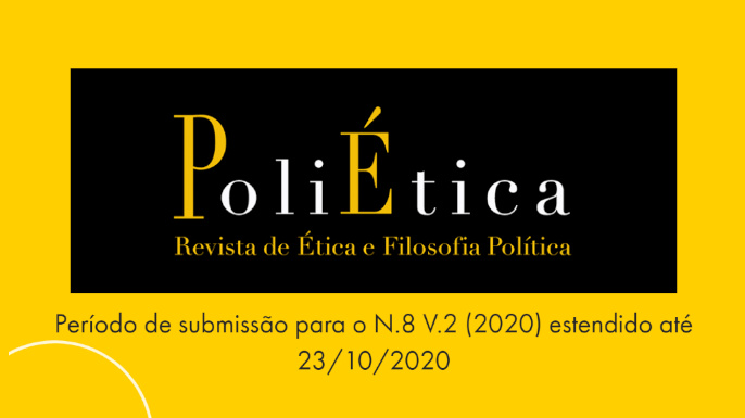 Call for papers da revista PoliÉtica, do Centro de Estudos Jean-Jacques Rousseau do Brasil (CER) da PUC-SP.