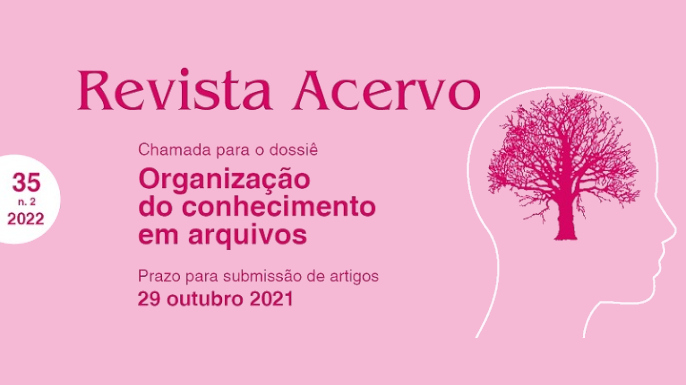 Call for papers da revista Acervo, financiada pelo Arquivo Nacional, sobre