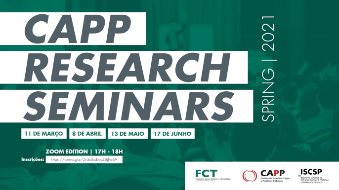 CAPP Research Seminars Spring 2021