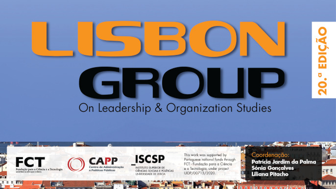 Lisbon Group on Leadership and Organization Studies | 20.ª edição